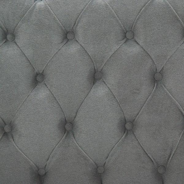 Světle šedá postel s přírodními nohami Vivonita Allon,180x200cm