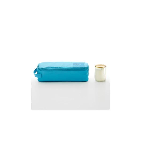 Obědová brašna One Colours se svačinovým boxem 0,75 l, tyrkysová