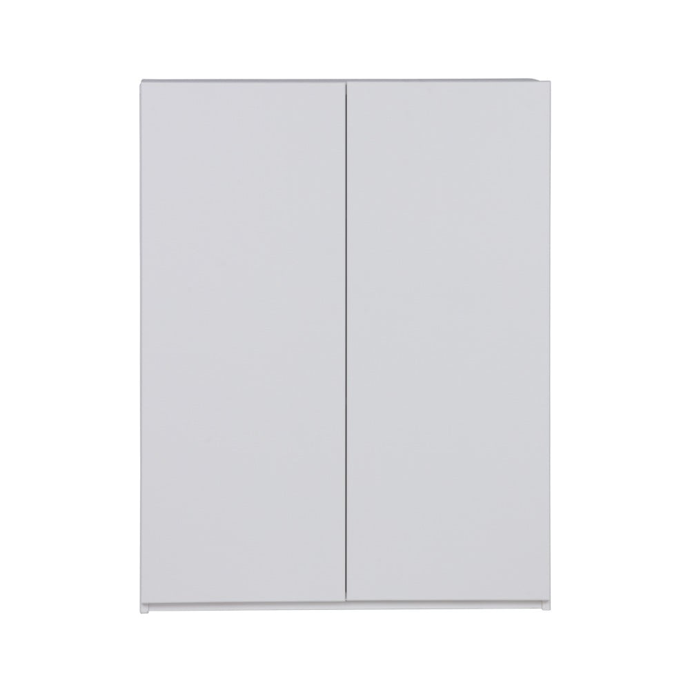 Bílá skříňka z borovicového dřeva De Eekhoorn Bind