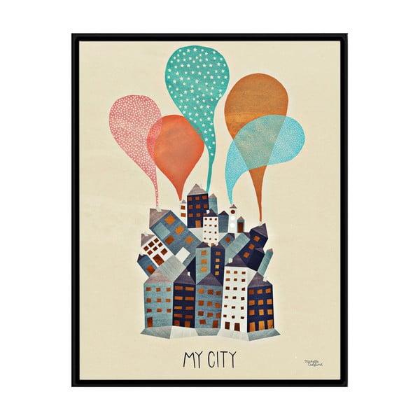 Plakát Michelle Carlslund My City, 30x40cm