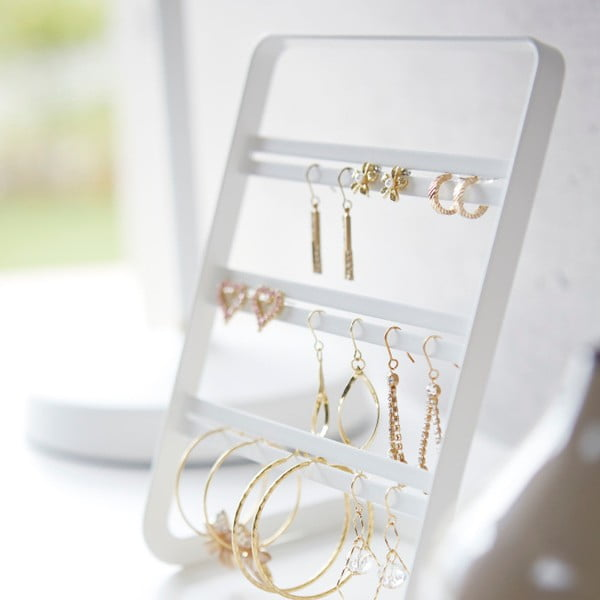 Bílý stojánek na šperky Yamazaki Branch