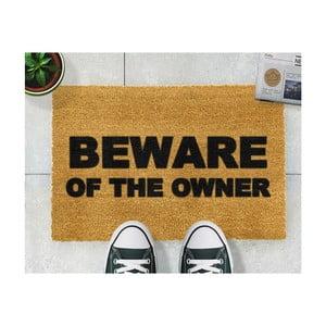 Rohožka Artsy Doormats Beware of the Owner,40x60cm