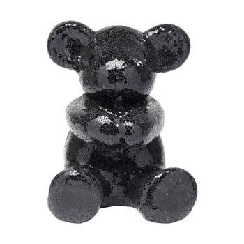 Statuetă decorativă Kare Design Teddy Bear Hug, negru de la Kare Design