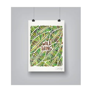 Poster Americanflat Wild Thing, 30 x 42 cm