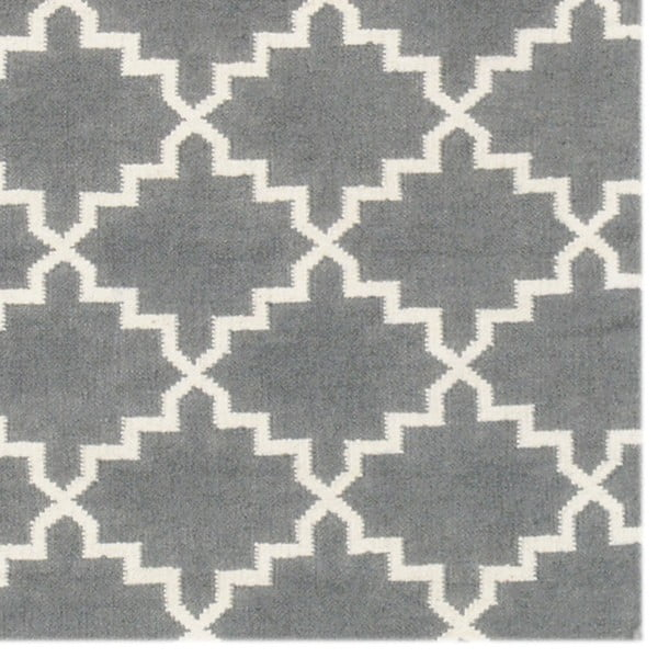 Vlněný koberec Eugenie Grey, 200x140 cm