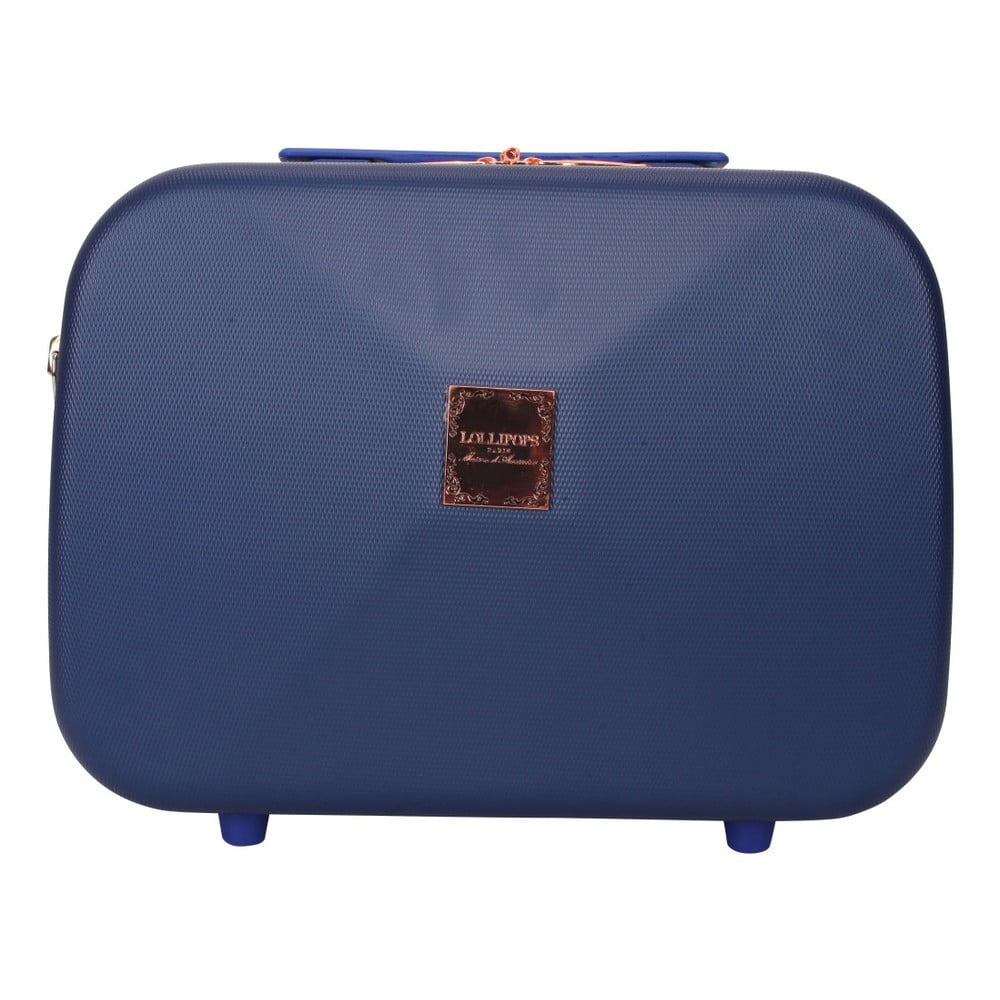 Tmavě modrý příruční kufr LULU CASTAGNETTE Jasobm 17l