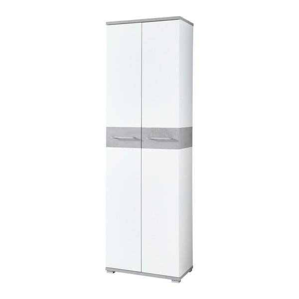 Bílá šatní skříň Germania Topix