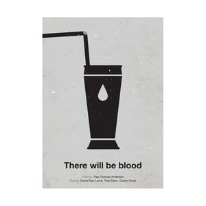 Plakát There will be blood, 29,7x42 cm, limitovaná edice