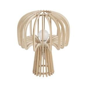 Skládací dřevěná stolní lampa Leitmotiv Globular Mushroom