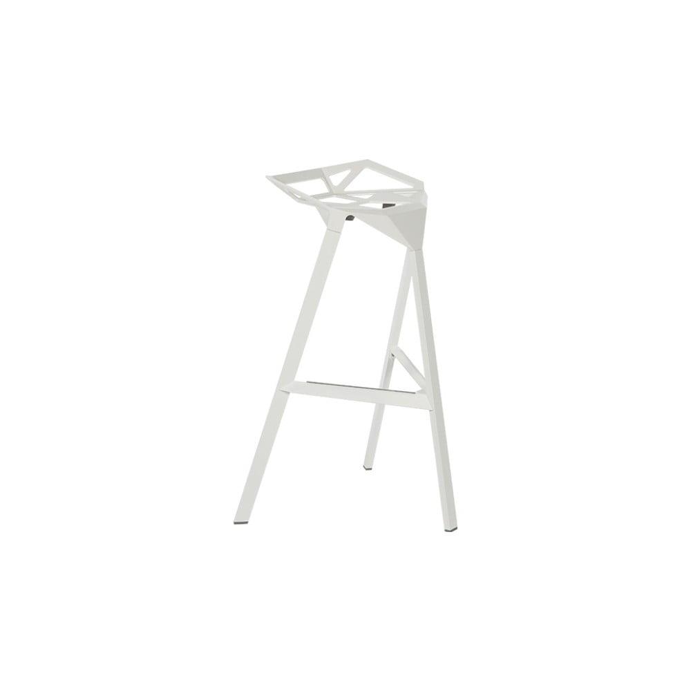 Bílá barová židle Magis Officina, výška 84 cm