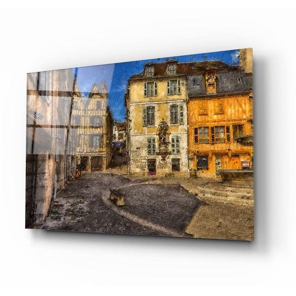Street üvegezett kép - Insigne