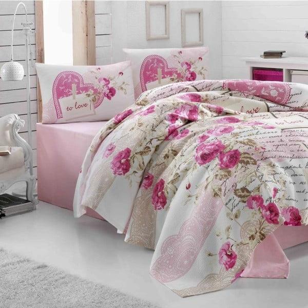 Povlečení Nice Pink, 200x230 cm
