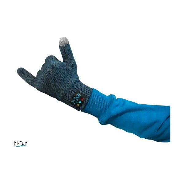 Hi-Call Headset v pánských rukavicích, černá