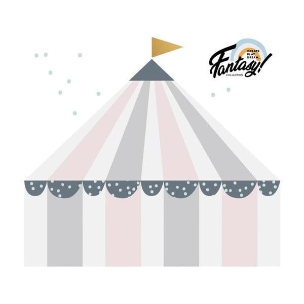 Nástěnná samolepka Dekornik Circus Pastel, 100x110cm