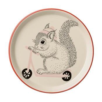 Farfurie din ceramică pentru copii Bloomingville Mollie, ⌀20 cm de la Bloomingville