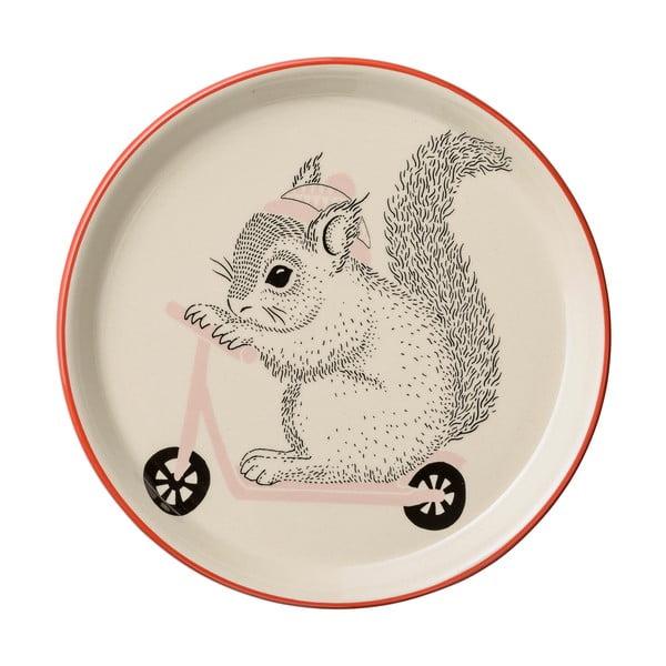 Farfurie din ceramică pentru copii Bloomingville Mollie, ⌀20 cm