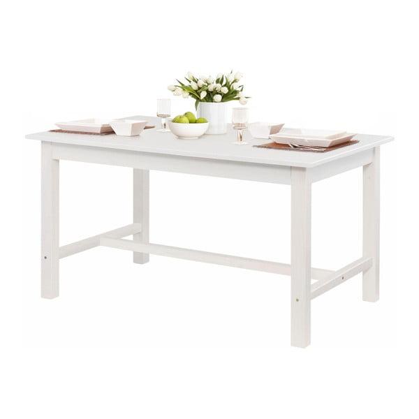 Bílý jídelní stůl z borovicového dřeva Støraa Randy, 100x220cm