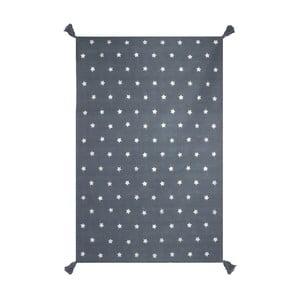 Ručně tkaný šedý koberec Art For Kids Voyage, 140x200cm