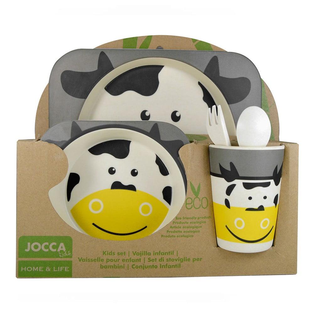 Dětský jídelní set JOCCA Cow