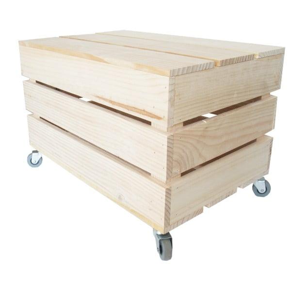 Box na kolečkách Chest, 50x27x32 cm