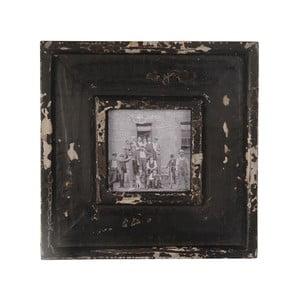 Set dvou obrazů ve dřevěných rámech, 24 x 24 cm