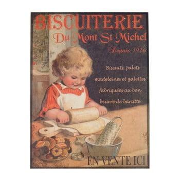 Poster metalic Antic Line Biscuiterie II, 35 x 37 cm imagine