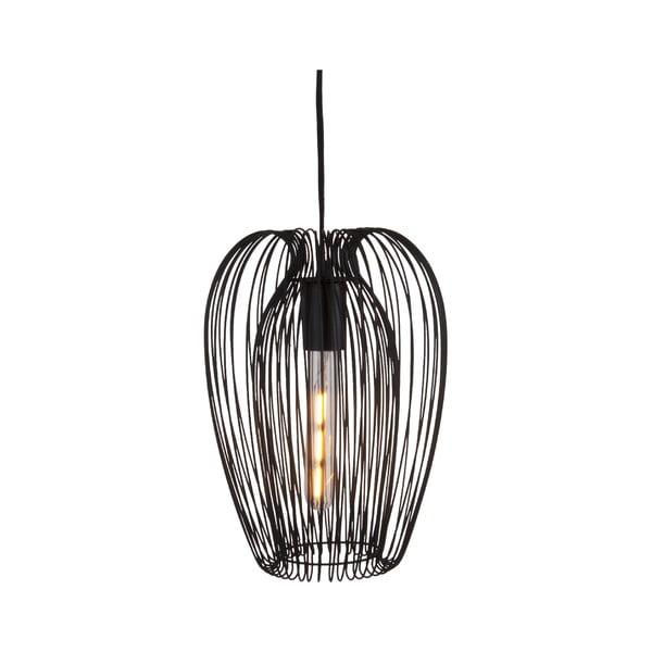 Czarna lampa sufitowa Leitmotiv Lucid