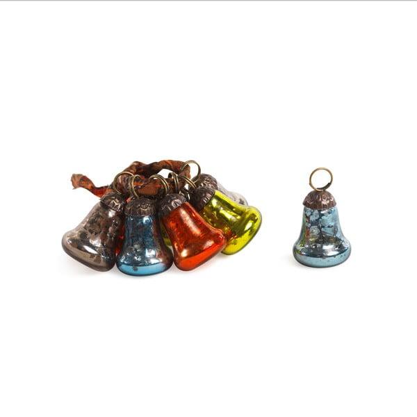 Sada 8 dekorativních zvonečků Bell