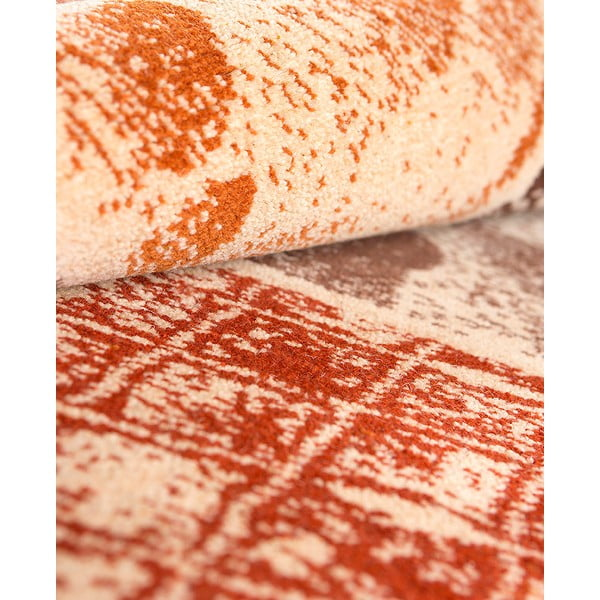 Vlněný koberec Coimbra no. 183, 140x200 cm, okrový