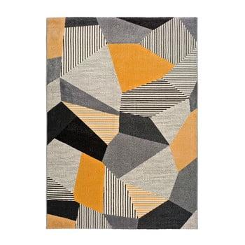 Covor Universal Gladys Sarro, 120x60cm, portocaliu-gri imagine