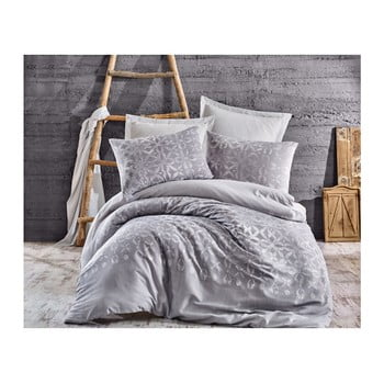 Lenjerie de pat cu cearșaf pentru pat dublu Ingrid, 200 x 220 cm de la EnLora Home