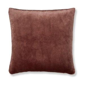 Hnědý povlak na polštář Catherine Lansfield Basic Cuddly, 55x55cm