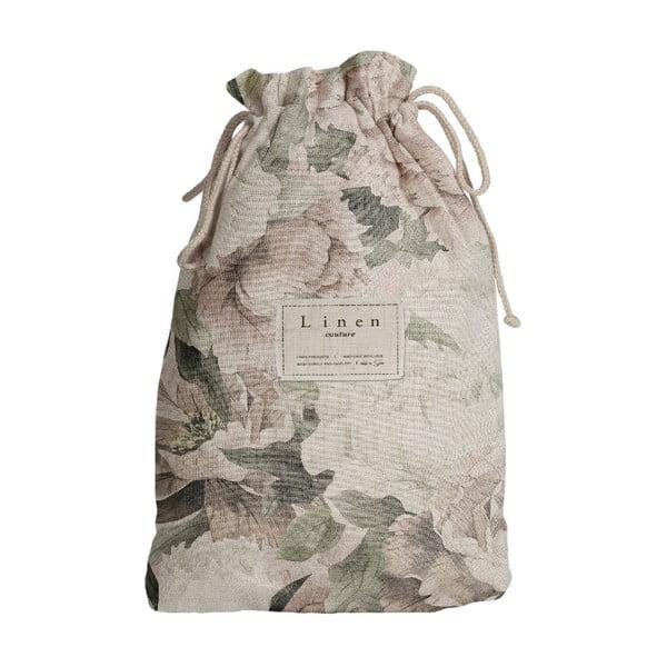 Worek na akcesoria podróżnicze z domieszką Inu Linen Couture Lily, dł. 44 cm