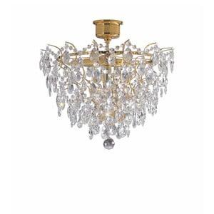 Stropní svítidlo ve zlaté barvě Markslöjd Rosendal Luxy, ø 48cm