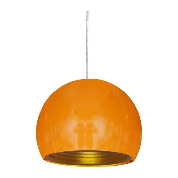 Závěsné světlo Pictor, oranžové