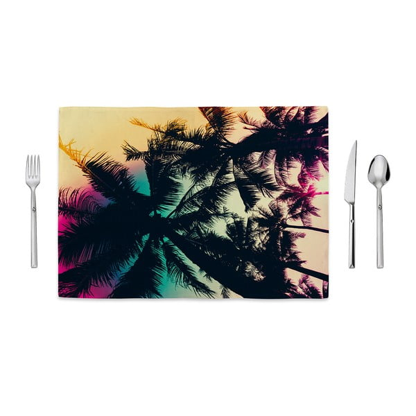 Prostírání Home de Bleu Tropical Palms, 35x49cm