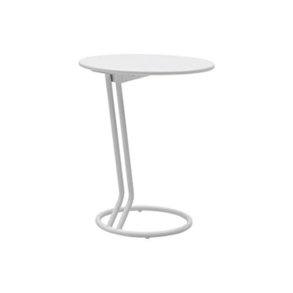 Bílý odkládací stolek Softline Boggie White