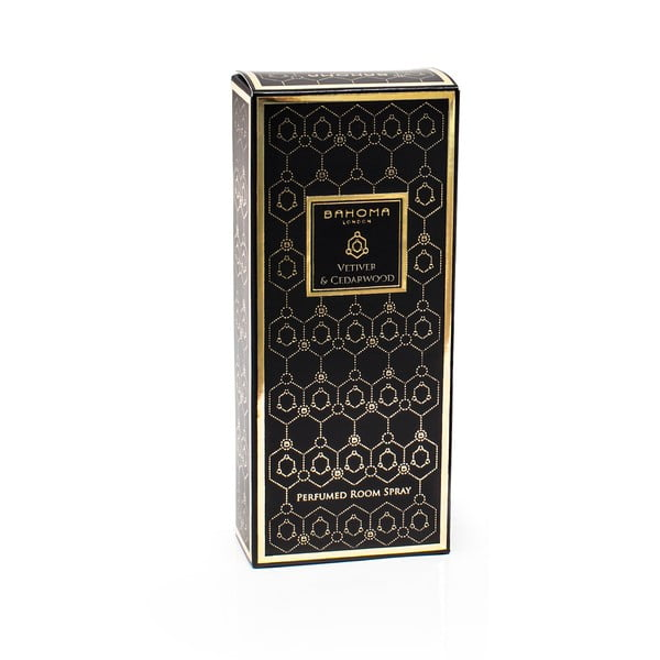 Parfum de casă în cutie cu aromă de cuisoare și ylang-ylang Bahoma London Room Spray, 100 ml