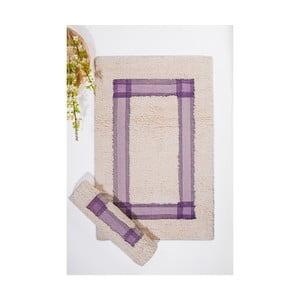 Set koupelnových předložek I, Cream Lilac