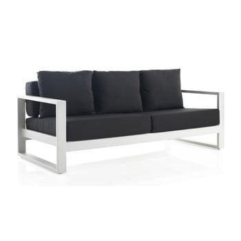 Canapea cu 3 locuri pentru grădină Geese Leonard