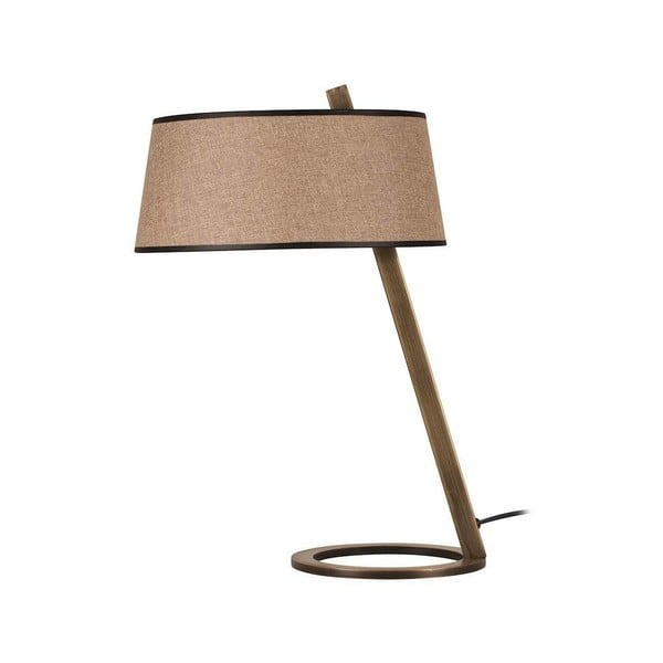 Hnedá stolová lampa Way Surf