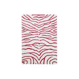 Ručně tkaný koberec Zebra, 153x244 cm, červený