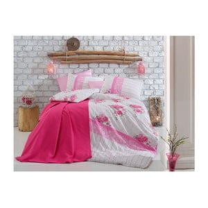 Lenjerie de pat cu cearșaf Rosana, 200 x 220 cm