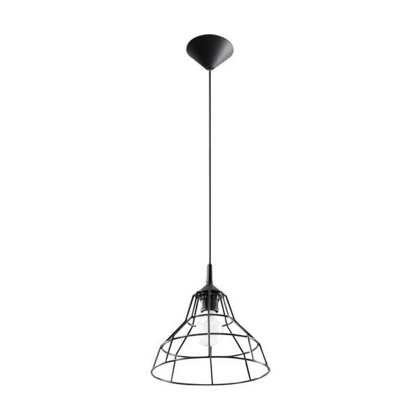 Černé závěsné svítidlo Nice Lamps Asama
