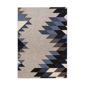 Modrošedý koberec DECO CARPET Milano Prestige, 160 x 230 cm