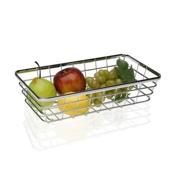 Coș din oțel pentru fructe Versa Chrome, 32x18 cm