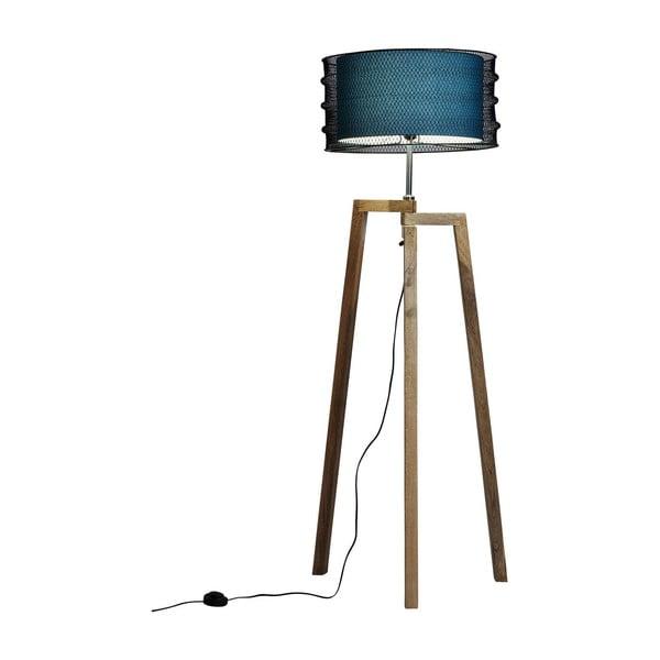 Lampadar Kare Design Wire Tripod, albastru