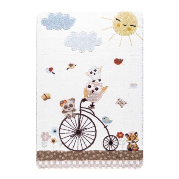 Confetti Sunny Day fehér gyerekszőnyeg, 100 x 150 cm