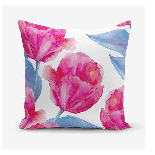 Povlak na polštář s příměsí bavlny Minimalist Cushion Covers Lale, 45 x 45 cm