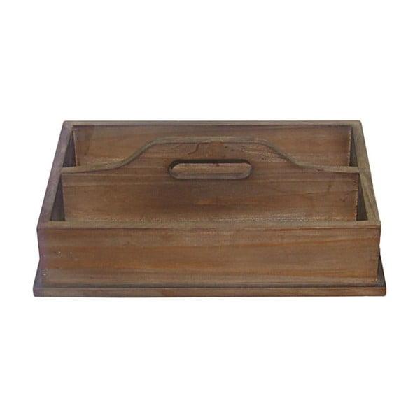 Dřevěný podnos Wooden Double